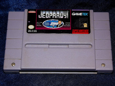 Super Nintendo Game: Jeopardy