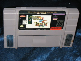 Super Nintendo Game: Olympic Summer Games