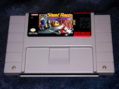 Super Nintendo Game: Stunt Race FX