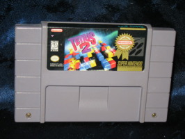 Super Nintendo Game: Tetris 2