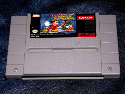 Super Nintendo Game: The Magical Quest Starring Mickey Mouse