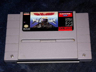 Super Nintendo Game: U.N. Squadron