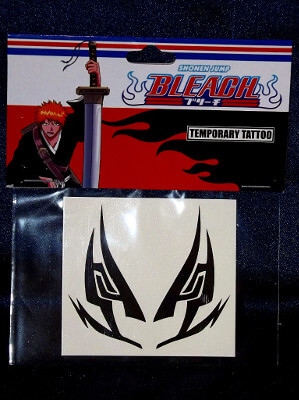 Bleach Temporary Tattoo: Renji's Mask