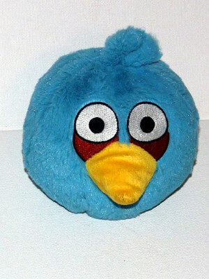 "Angry Birds Plushie: 7"" Little Blue Bird"