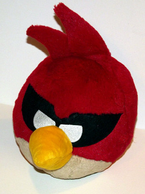 "Angry Birds Space Plushie: 9"" Red Bird"
