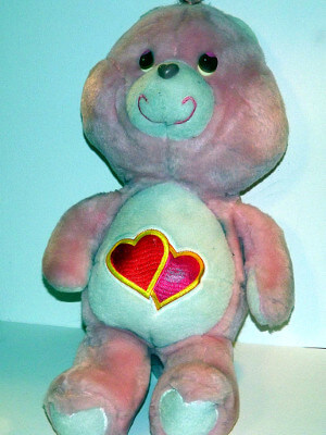 "Care Bears Plushie: 17"" Luv A Lot Bear"