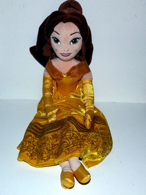 "Disney Plushie: 19"" Beauty and the Beast's Belle"