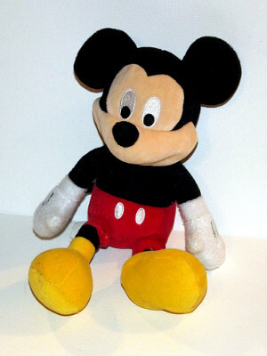 "Disney Plushie: 15"" Mickey Mouse, Clubhouse"