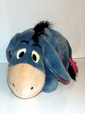 "Disney's Winnie-the-Pooh Plushie: 24"" Eeyore, with Detachable Tail"