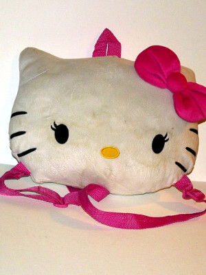 Hello Kitty Plushie Backpack: 9