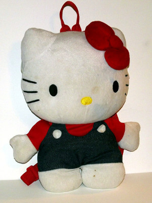 Hello Kitty Plushie Backpack: 15