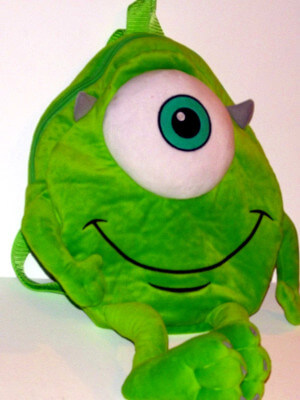 Monsters, Inc Plushie Backpack: 18
