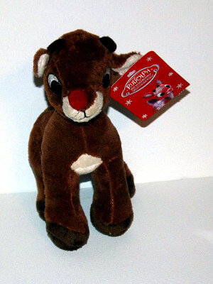 Rudolph the Red-Nosed Reindeer Plushie: Rudoph