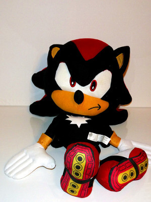 "Sonic the Hedgehog Plushie: 24"" Shadow"