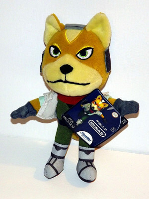 "Star Fox Plushie: 8"" Fox McCloud"