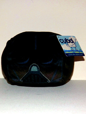 "Star Wars Plushie: 4½"" Darth Vader Cube"