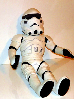 "Star Wars Plushie: 27"" Stormtrooper Pillowbuddy"