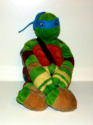 "Teenage Mutant Ninja Turtles Plushie: 24"" Leonardo, Pillowbuddy"
