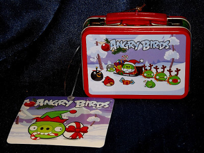 Angry Birds Christmas Ornament: Angry Birds Lunch Box