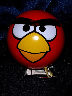 Angry Birds Christmas Ornament: Red Bird with Puzzle
