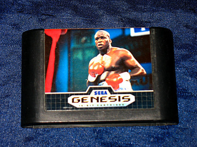 Sega Genesis Game: James 'Buster' Douglas Boxing
