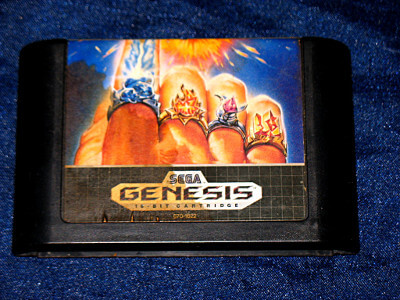 Sega Genesis Game: Jewel Master