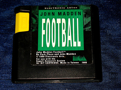 Sega Genesis Game: John Madden Football