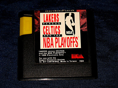Sega Genesis Game: Lakers vs. Celtics & The NBA Playoffs