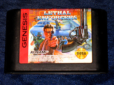 Sega Genesis Game: Lethal Enforcers