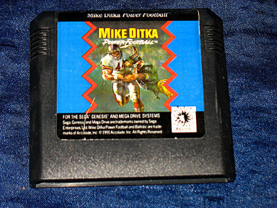 Sega Genesis Game: Mike Ditka Power Football