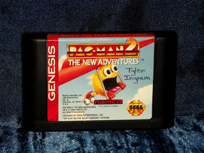 Sega Genesis Game: Pac-Man 2: The New Adventures with Case and Manual