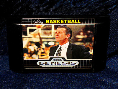 Sega Genesis Game: Pat Riley Basketball