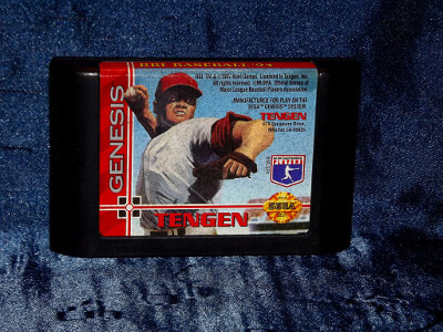 Sega Genesis Game: R.B.I. Baseball '94 with Case and Manual