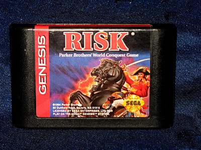 Sega Genesis Game: RISK - The World Conquest Game