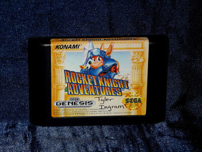 Sega Genesis Game: Rocket Knight Adventures with Case and Manual