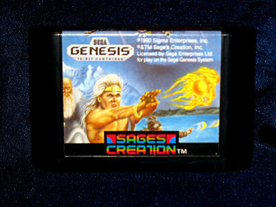 Sega Genesis Game: Shadow Blasters