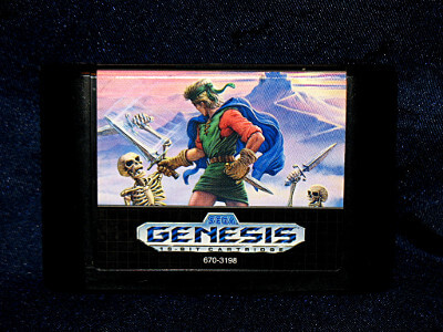 Sega Genesis Game: Shining Force with Case
