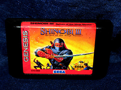 Sega Genesis Game: Shinobi III: Return of the Ninja Master