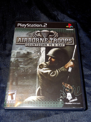Playstation 2 Game: Airborne Troops: Countdown to D-Day
