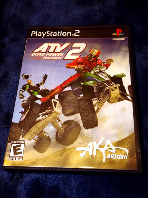 Playstation 2 Game: ATV 2 Quad Power Racing