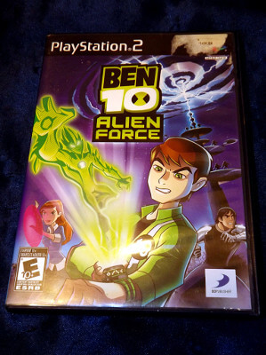 Playstation 2 Game: Ben 10 Alien Force