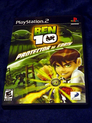 Playstation 2 Game: Ben 10 Protector of Earth