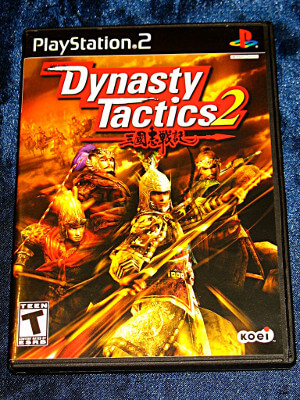 Playstation 2 Game: Dynasty Tactics 2