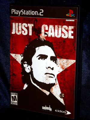 Playstation 2 Game: Just Cause