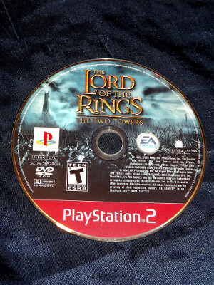Playstation 2 Game: Lord of the Rings: The Two Towers