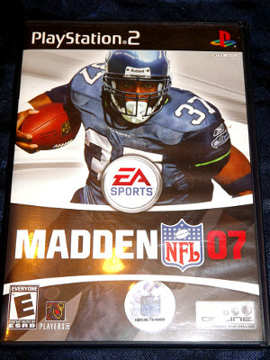 Playstation 2 Game: Madden NFL '07