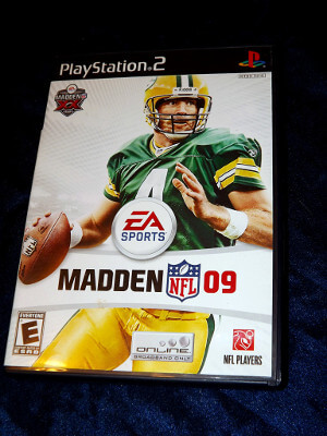 Playstation 2 Game: Madden NFL '09