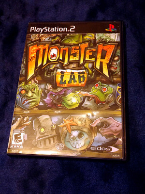 Playstation 2 Game: Monster Lab