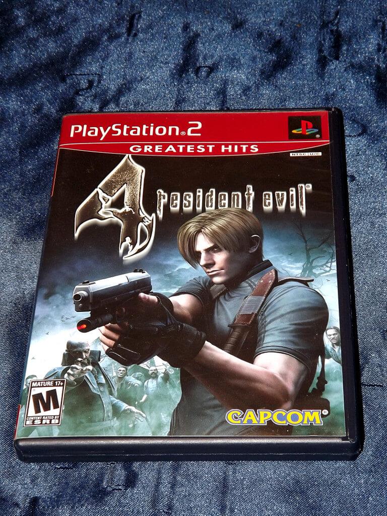 Chameleon S Den Playstation 2 Game Resident Evil 4