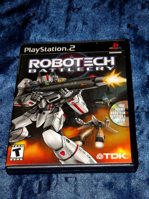 Playstation 2 Game: Robotech: Battlecry
